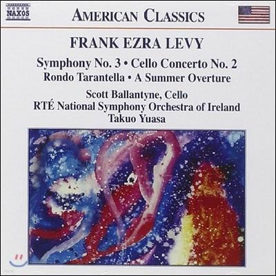 Takuo Yuasa 프랑크 레비: 교향곡 3번, 첼로 협주곡 2번 (Frank Ezra Levy: Symphony No.3, Cello Concerto No.2, Rondo Tarantella)