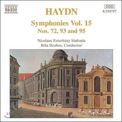 Bela Drahos 하이든: 교향곡 15집 - 72, 93, 95번 (Haydn: Symphonies, Vol.15)