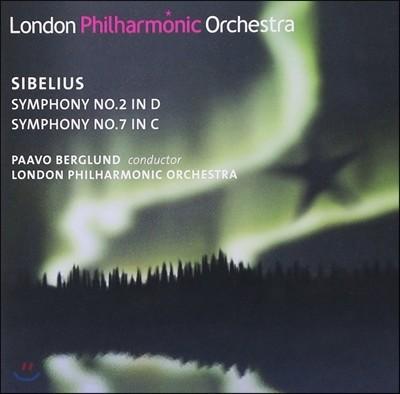Paavo Berglund 시벨리우스: 교향곡 2번, 7번 (Sibelius: Symphonies Nos.2, 7)