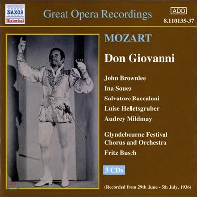 John Brownlee / Fritz Busch 모차르트: 돈 조반니 (Mozart: Don Giovanni)
