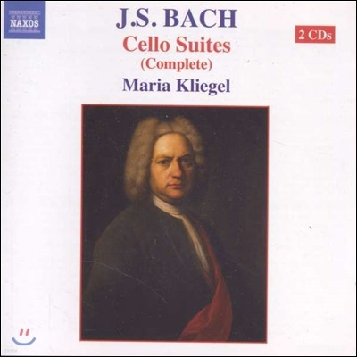 Maria Kliegel 바흐: 무반주 첼로 모음곡 전곡 (Bach: Cello Suites Complete BWV1007-1012)