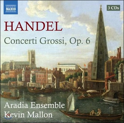 Aradia Ensemble 헨델: 합주 협주곡 [콘체르토 그로소] (Handel: Concerti Grossi Op.6)
