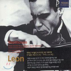 Beethoven : Violin Sonata No.9 A Major, op.47 'Kreutzer'ㆍNo.6 A Major, op.30/1 : Leonid Kogan