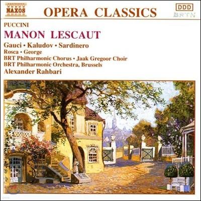 Alexander Rahbari 푸치니: 마농 레스코 (Puccini: Manon Lescaut)