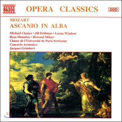 Jacques Grimbert 모차르트: 알바의 아스카니오 (Mozart: Ascanio In Abla)