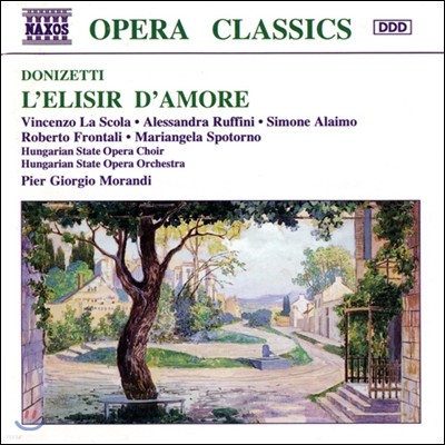 Vincenzo La Scola 도니제티: 사랑의 묘약 (Donizetti: L'Elisir d'Amore)