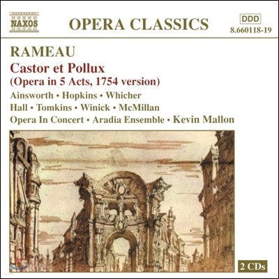 Colin Ainsworth / Joshua Hopkins 라모: 오페라 '카스토르와 폴룩스' (Rameau: Castor et Pollux)