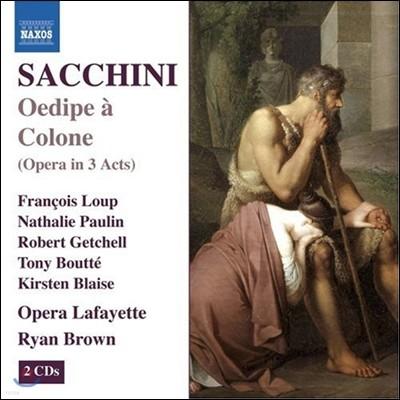 Francois Loup / Ryan Brown 안토니오 사키니: 오페라 '콜로노스의 오이디푸스' (Antonio Sacchini: Oedipe A Colone)