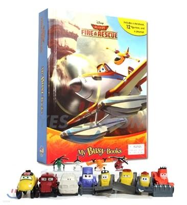 Disney Planes Fire & Rescue My Busy Book 디즈니 비행기 비지북