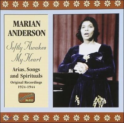 마리안 앤더슨 1924-1944년 레코딩 - 아리아, 가곡, 영가 (Marian Anderson - Softly Awakes My Heart: Arias, Songs and Spirituals)