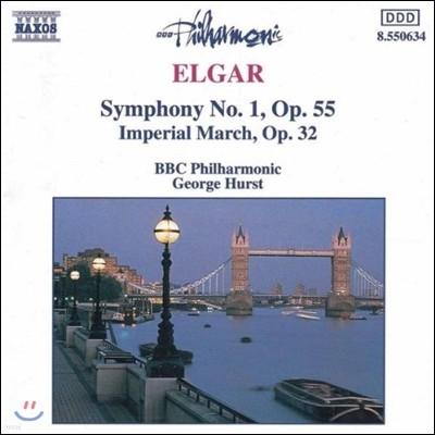 George Hurst 엘가: 교향곡 1번, 황제 행진곡 (Elgar: Symphony Op.55, Imperial March Op.32)