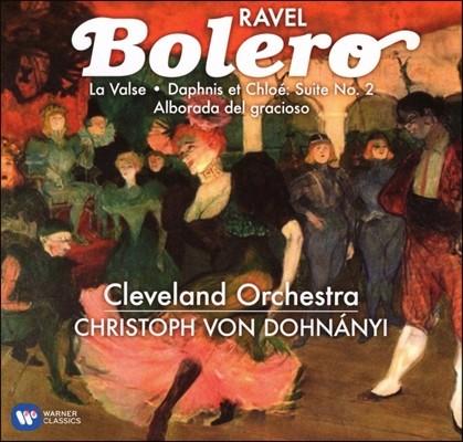 Christoph von Dohnanyi 라벨: 볼레로, 라발스, 다프니스와 클로에 - 크리스토프 폰 도흐나니 (Ravel: Bolero, La Valse, Daphnis et Chloe Suite)