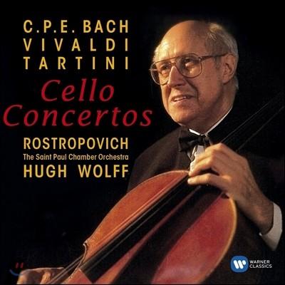 Mstislav Rostropovich 비발디 / 타르티니 / C.P.E 바흐: 첼로 협주곡 - 므스티슬라프 로스트로포비치 (Vivaldi / Tartini / C.P.E. Bach: Cello Concertos)