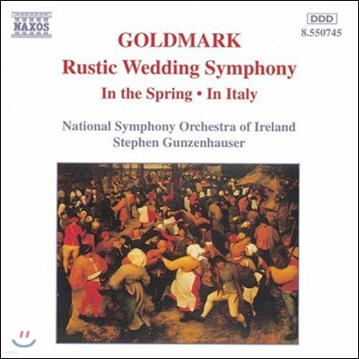 Stephen Gunzenhauser 골드마르크: 교향곡 1번 '시골풍의 결혼', 봄에 (Karl Goldmark: Rustic Wedding Symphony In the Spring, In Italy)