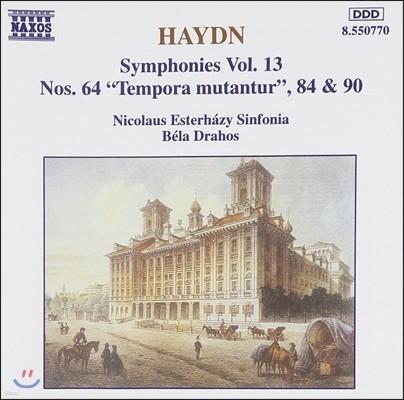Bela Drahos 하이든: 교향곡 전곡 13집 - 64번, 84번, 90번 (Haydn: Symphonies Vol.13 - 'Tempora Mutantur', Nos.84&90)