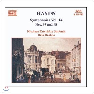 Bela Drahos 하이든: 교향곡 전곡 14집 - 97, 98번 (Haydn: Symphonies Vol.14 - No.97, No.98)