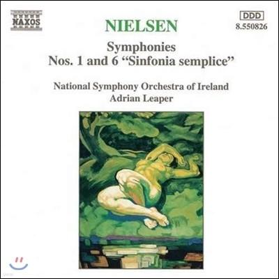 Adrian Leaper 칼 닐센: 교향곡 1번, 6번 '단순 교향곡' (Carl Nielsen: Symphony No.1, No.6 'Sinfonia Semplice')