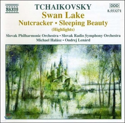 Michael Halasz 차이코프스키: 백조의 호수, 호두까기 인형, 잠자는 숲속의 미녀 - 발레 하이라이트 (Tchaikovsky: Swan Lake, Nutcracker, Sleeping Beauty)