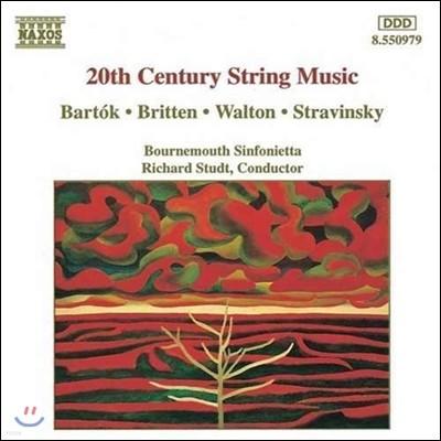 Richard Studt 20세기의 현을 위한 음악 - 바르톡 / 브리튼 / 스트라빈스키 (20th Century String Music - Bartok / Britten / Walton / Stravinsky)