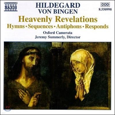 Oxford Camerata 힐데가르트 폰 빙엔: 성가, 속송, 응답 송가 (Hildegard von Bingen: Heavenly Revelations - Hymns, Sequences, Antiphons, Responds)