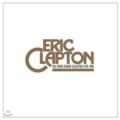Eric Clapton - The Studio Album Collection 1970-1981 (에릭 클랩튼 스튜디오 앨범 LP 박스 세트)