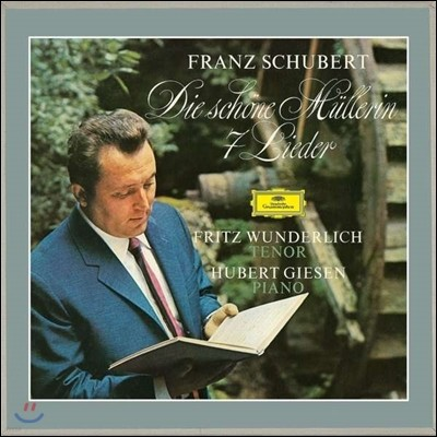 Fritz Wunderlich 프리츠 분덜리히 - 슈베르트: 가곡 '아름다운 물레방앗간의 아가씨' [2LP]