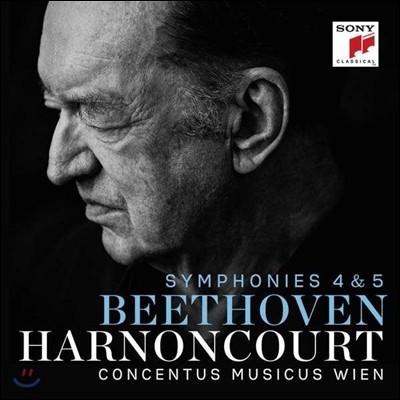 Nikolaus Harnoncourt 베토벤: 교향곡 4번, 5번 - 니콜라우스 아르농쿠르 (Beethoven: Symphonies Op.60, Op.67)