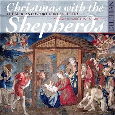 Marian Consort 목자들의 크리스마스 - 모랄레스 / 무통 / 스타빌레 (Christmas With The Shepherds - Morales / Mouton / Stabile)
