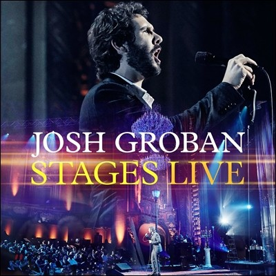 Josh Groban - Stages Live (조쉬 그로반 라이브 앨범 CD+Blu-ray 버전)