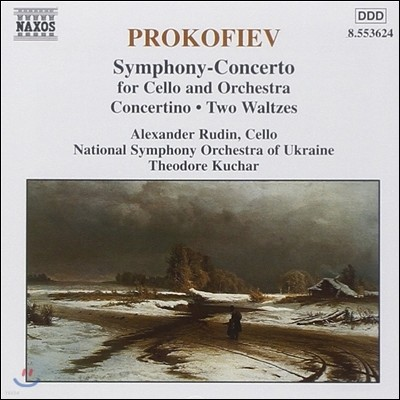Theodore Kuchar 프로코피에프: 첼로와 오케스트라를 위한 교향 협주곡, 콘체르티노, 푸쉬킨 왈츠 (Prokofiev: Symphony-Concerto, Pushkin Waltzes)