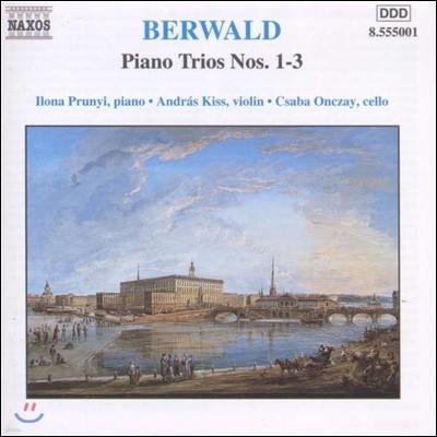 Ilona Prunyi 프란츠 베르발트: 피아노 삼중주 1집 - 1-3번 (Franz Berwald: Piano Trios Vol.1)