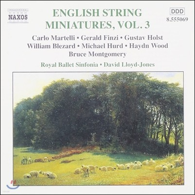 David Lloyd-Jones 영국 현악 소품 3집 - 홀스트 / 제랄드 핀지 (English String Miniatures Vol.3 - Gustav Holst / Gerald Finzi)