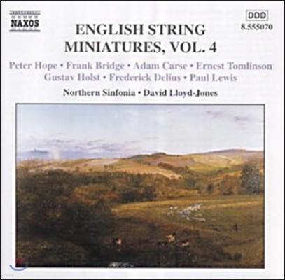 David Lloyd-Jones 영국 현악 소품 4집 - 프랭크 브리지 / 델리우스 (English String Miniatures Vol.4 - Frank Bridge / Delius / Paul Lewis)