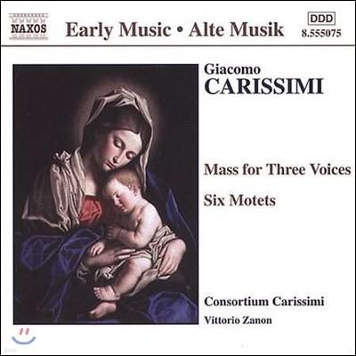 Consortium Carissimi 자코모 카리시미: 3성 미사곡, 여섯 개의 모테트 (Giacomo Carissimi: Mass for 3 Voices, Motets 'Confitemini Domino')