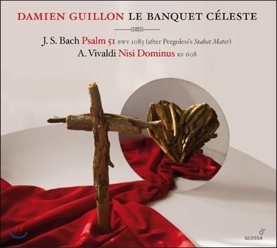 Damien Guillon 바흐: 시편 51편 [페르골레지 스타바트 마테르 편곡] / 비발디: 니시 도미누스 - 다미앙 기용 (Bach: Psalm BWV1083 / Vivaldi: Nisi Dominus RV608)