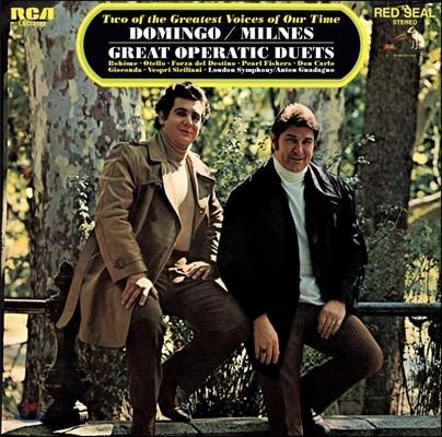 플라시도 도밍고 / 쉐릴 밀른즈 - 위대한 오페라 듀엣 (Placido Domingo / Sherrill Milnes - Great Operatic Duets)