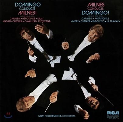플라시도 도밍고가 지휘하는 밀른즈! 쉐릴 밀른즈가 지휘하는 도밍고! (Placido Domingo Conducts Milnes! Sherrill Milnes Conducts Domingo!)