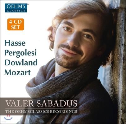 Valer Sabadus 발러 사바두스 - 하세 / 페르골레지 / 존 다울랜드 / 모차르트: 오페라 아리아, 가곡집 (Hasse / Pergolesi / John Dowland / Mozart)
