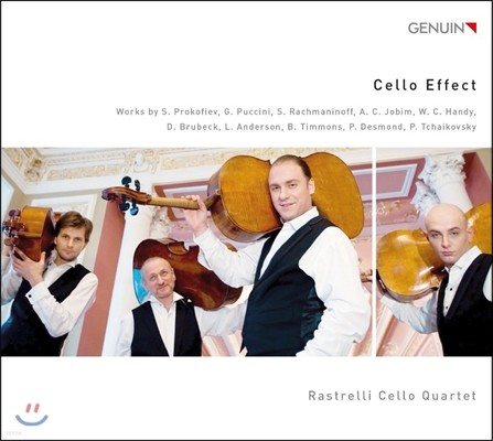 Rastrelli Cello Quartet 첼로 이펙트 - 라스트렐리 첼로 사중주단 (Cello Effect - Prokofiev / Puccini / Rachmaninov / Tchaikovsky / Brubeck)