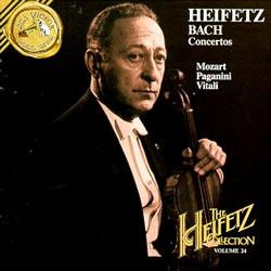바흐 : 바이올린 협주곡 / 비탈리 : 샤콘느 / 모차르트 / 파가니니 - 야사 하이페츠