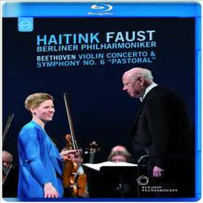 베토벤: 바이올린 협주곡 & 교향곡 6번 '전원' (Beethoven: Violin Concerto & Symphony No. 6 'Pastoral') (Blu-ray) (2016) - Isabelle Faust