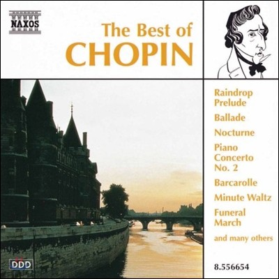 작곡가 베스트 음악 시리즈 - 쇼팽 (The Best of Chopin) 이딜 비렛