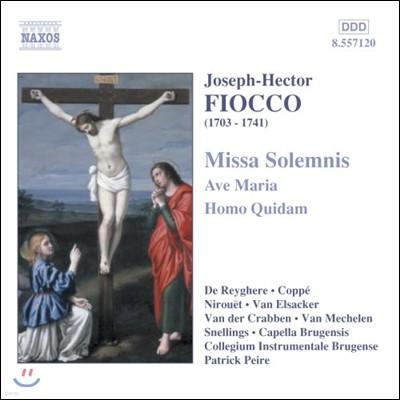 Capella Brugensis 피오코: 장엄 미사, 아베 마리아, 호모 퀴담 (Joseph-Hector Fiocco: Missa Solemnis, Ave Maria, Homo Quidam)