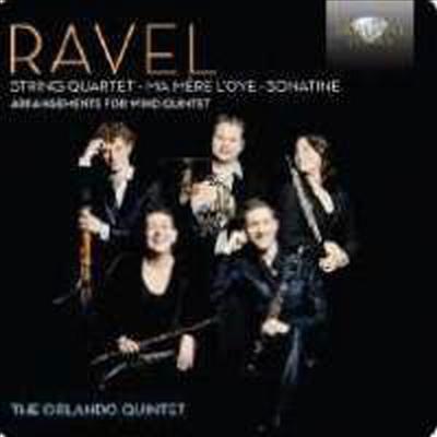 라벨: 목관 오중주 편곡반 (Ravel: Arranged Works for Wind Quintets) - Orlando Quintet