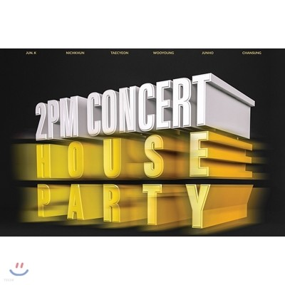 2PM 2015 Concert : House Party in Seoul DVD
