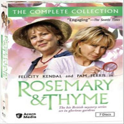Rosemary & Thyme: The Complete Collection (로즈메리 앤 타임)(지역코드1)(한글무자막)(DVD)