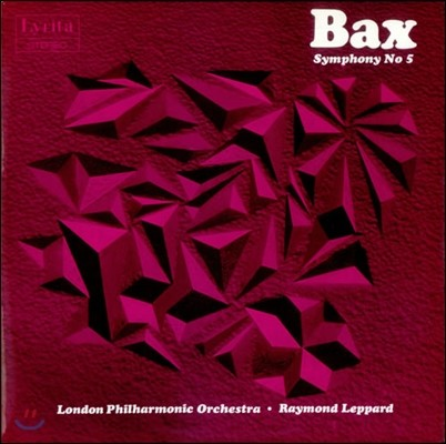 Raymond Leppard 아놀드 백스: 교향곡 5번 - 레이먼드 레퍼드, 런던필하모닉 (Arnold Bax: Symphony No.5)