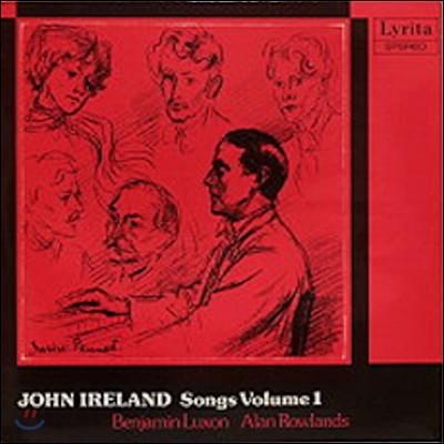 Benjamin Luxon 존 아일랜드: 가곡 1집 - 벤자민 럭슨 (John Ireland: Songs Vol.1 - Songs of a Wayfarer, Sea Fever, Marigold, 5 Poems by Thomas Hardy)