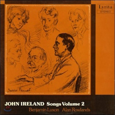 Benjamin Luxon 존 아일랜드: 가곡 2집 - 벤자민 럭슨 (John Ireland: Songs Vol.2 - Songs Sacred & Profane, Five XVth Century Songs, Spring Sorrow, Santa Chiara)