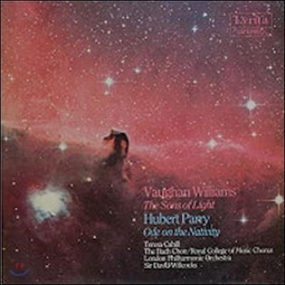 David Willcocks 허버트 패리: 성탄 찬가 / 랄프 본 윌리엄스: 빛의 아들 (Hubert Parry: Ode on the Nativity / Vaughan Williams: The Sons of Light)